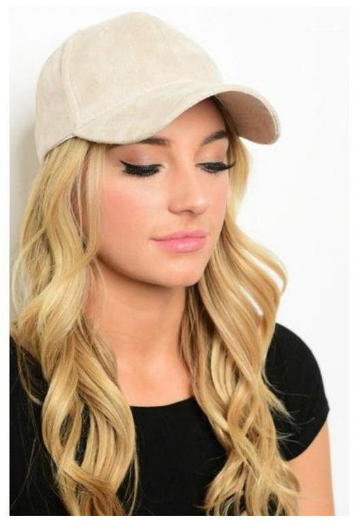 Let's Brunch, Faux Suede Baseball Cap
