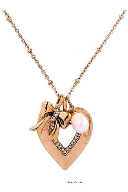Pendants Of Love: Heart Of Gold