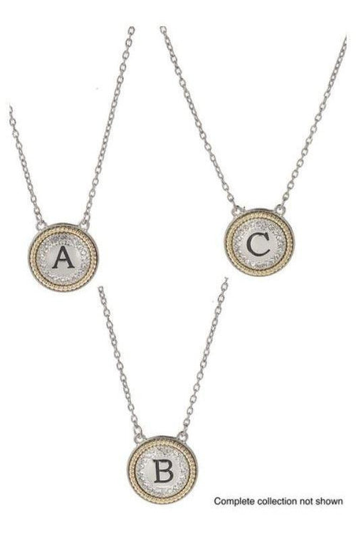 Monogram Letter Necklace - RMC Boutique