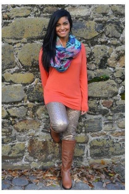 """Love is in the Air"" Scarf - Teal - RMC Boutique"