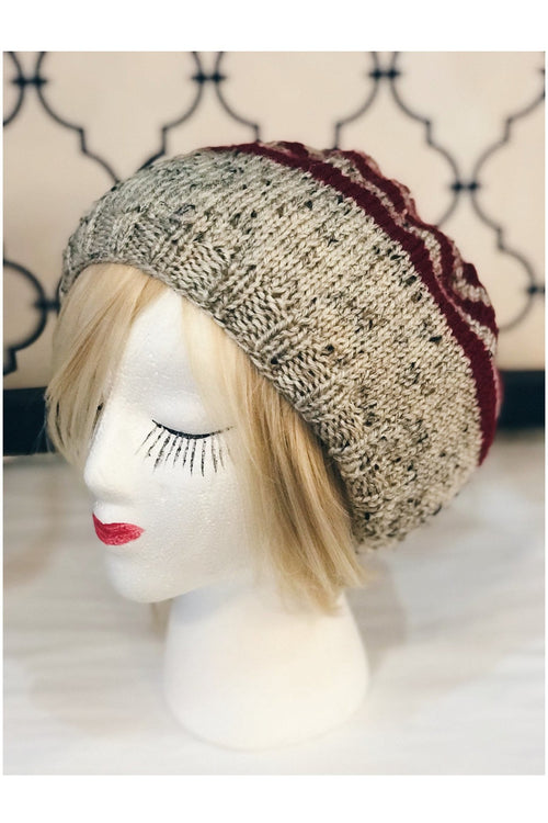 "WITH LOVE FROM JEANIE ""Christmas Striped"" Beanie"