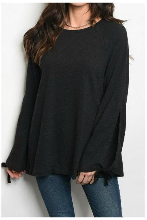 Relaxed Fit Sweater, Black