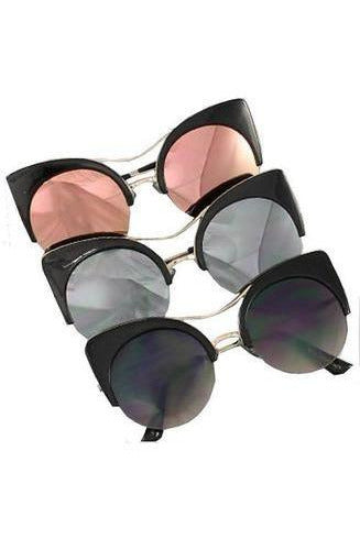 Roxy's Mirrored Sunglasses - RMC Boutique