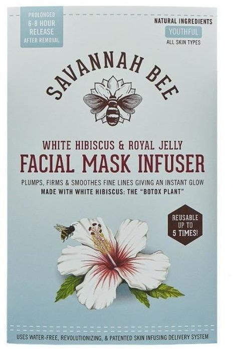 Savannah Bee Co: White Hibiscus and Royal Jelly Facial Mask Infuser