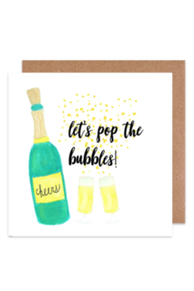 Let's pop the bubbles Card