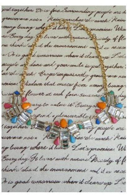 """Sometimes different is OK"" Statement Necklace - RMC Boutique"