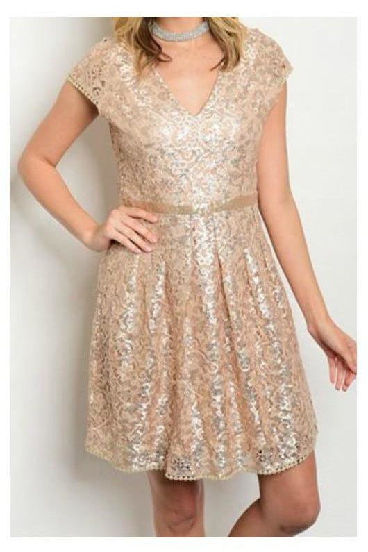 Sparkle Of The Night, Sequin Dress - RMC Boutique  - 1