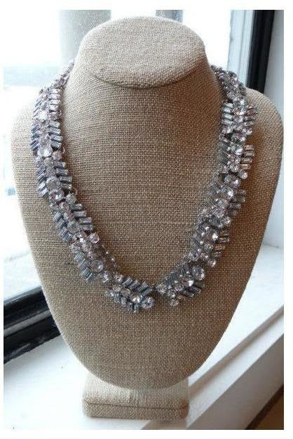 """Sweet Heart Crystal"" Statement Necklace - RMC Boutique"