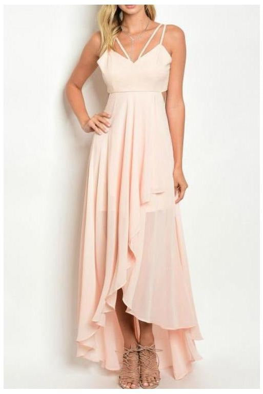 What Dreams Are Made Of, Blush Maxi Dress