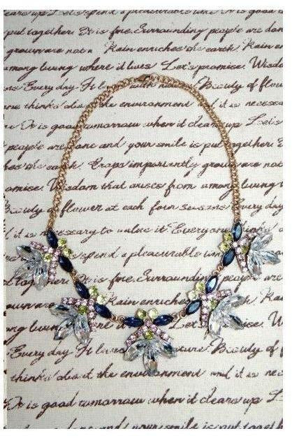 """Whimsical Treasure"" Bib Necklace - RMC Boutique"
