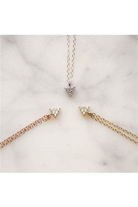 Wander + Lust Jewelry - Rose Gold Fill Balance Necklace