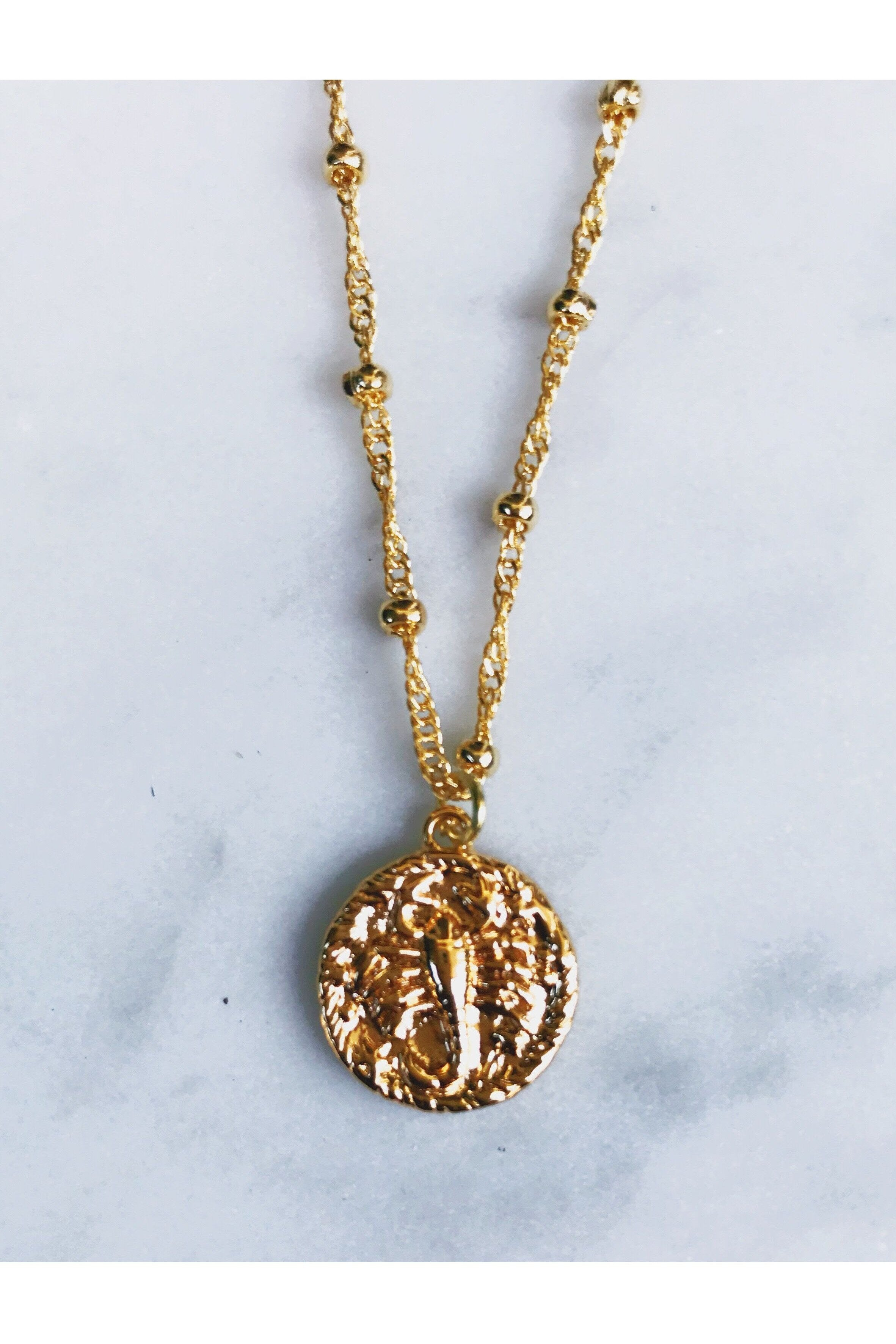 Rope the Moon Jewelry - Scorpio Necklace - RMC Boutique