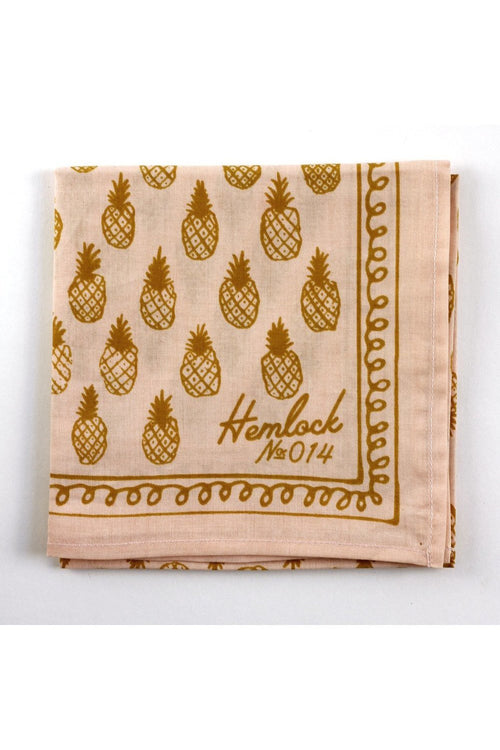Hemlock - Pineapples Bandana