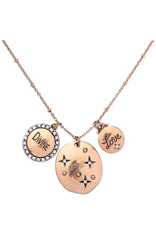 Pendants Of Love: Divine Love Charm Necklace