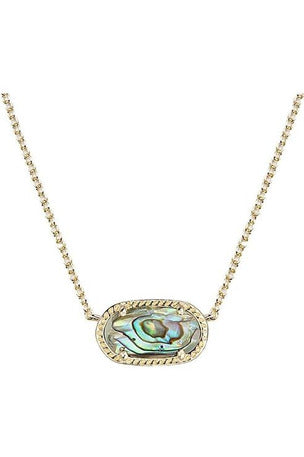 ELISA PENDANT NECKLACE IN ABALONE SHELL BY KENDRA SCOTT - RMC Boutique