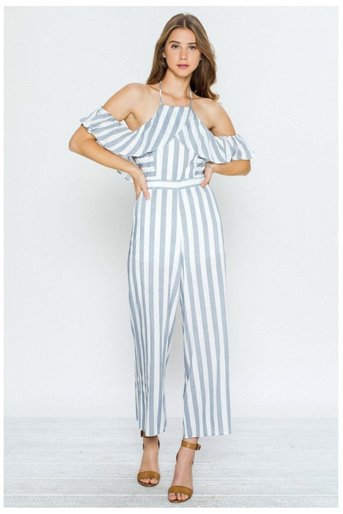 Striped To Perfection Jumpsuit