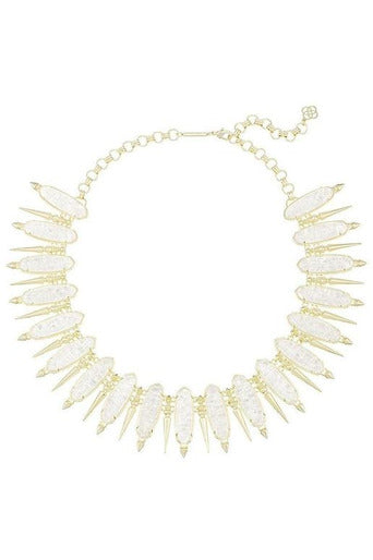GWENDOLYN STATEMENT NECKLACE IN CRUSHED IVORY PEARL by  Kendra Scott - RMC Boutique