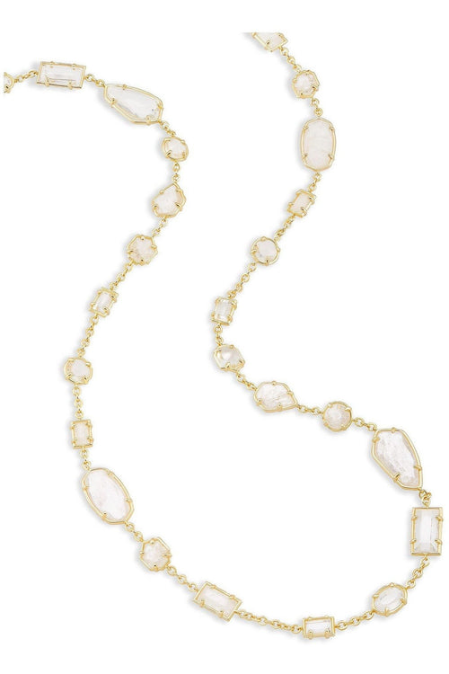 Kendra Scott: Joann Long Necklace In Gold
