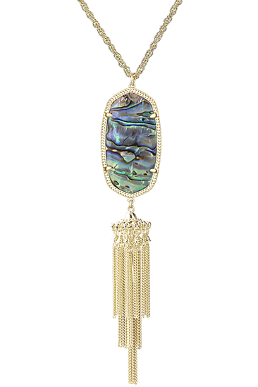 Kendra Scott Rayne Necklace in Abalone Shell - RMC Boutique