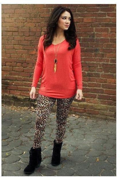 Leopard Print Leggings - RMC Boutique