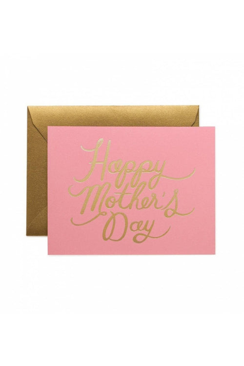 Rifle Paper Co: Pretty in Pink Greeting Card - RMC Boutique