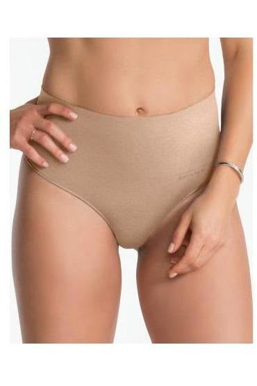 Spanx: Everyday Shaping Panties Thong, Soft Nude