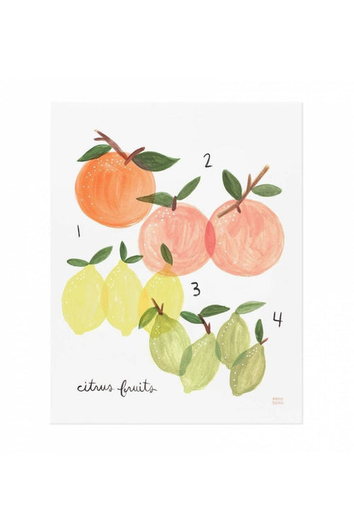 Rifle Paper Co.: Citrus Art Print 8x10 - RMC Boutique