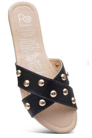 urban chic wrap buckle gladiator sandals