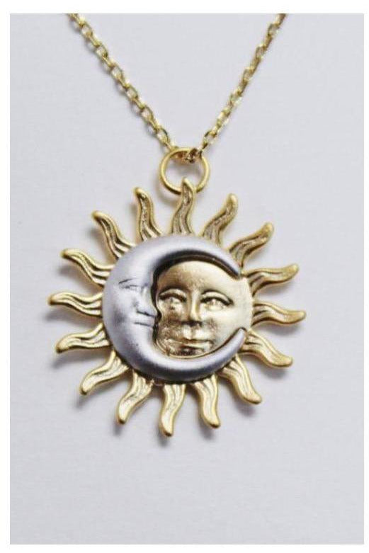 Sun And The Moon Necklace - RMC Boutique