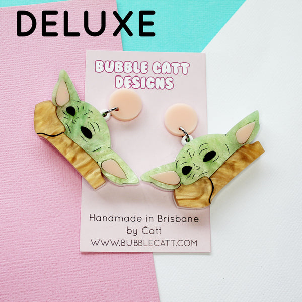 Baby Yoda Dangle Earrings