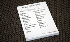 KSP Build Checklist