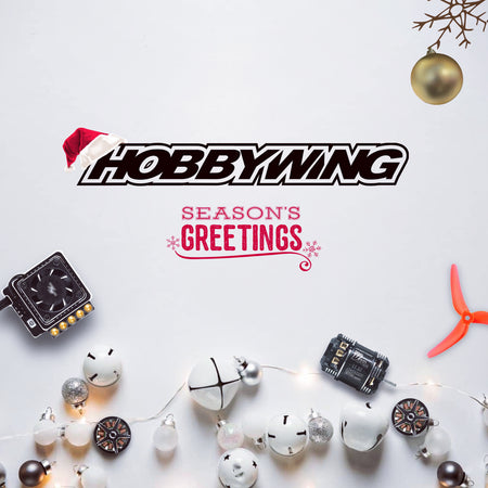 Happy Holiday on Behalf of HOBBYWING North America