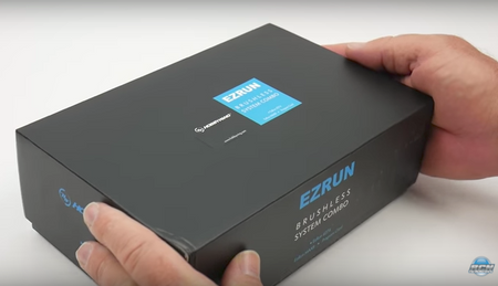 EZRUN MAX8 ESC and motor combo unboxing by The RC NETWORK