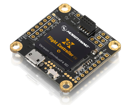 "News: HOBBYWING released Flight Controller (FC) for FPV Drone ""serious"" racers"