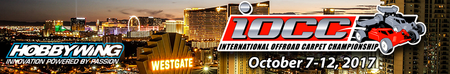 Title sponsor of International Offroad Carpet Competition @ Las Vegas
