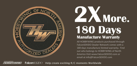180 days Manufacture Warranty