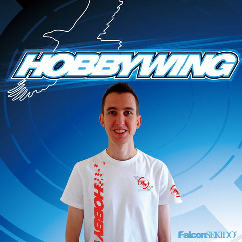 Andy signed off with Hobbywing