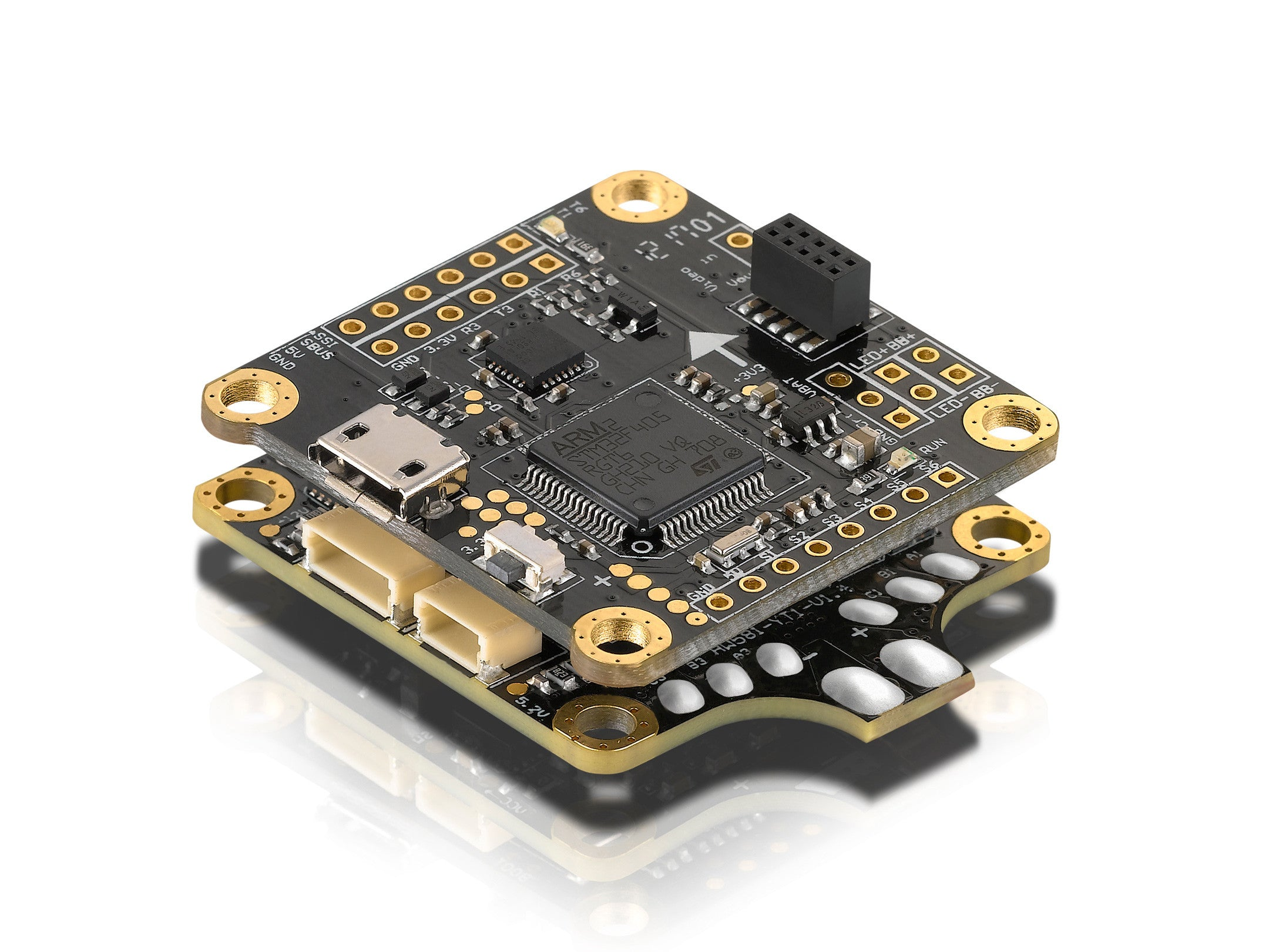XRotor Flight Controller F4 (Micro) for FPV Drone Pilots – HOBBYWING ...