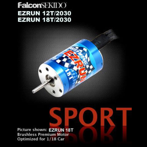 EZRUN Motor for 1/18 Car (12T & 18T) , Motor for Vehicle - Hobbywing, HOBBYWING North America