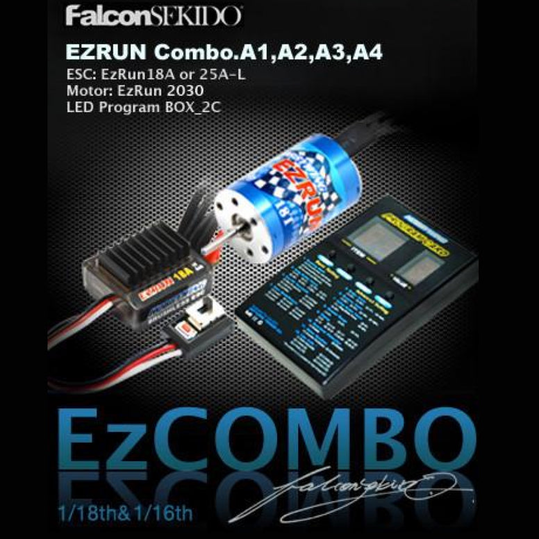 EZRUN Combo for 1/18 Car (A Series) , Combo - Hobbywing, HOBBYWING North America - 1