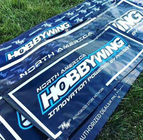 Raceway and Shop HOBBYWING Banners