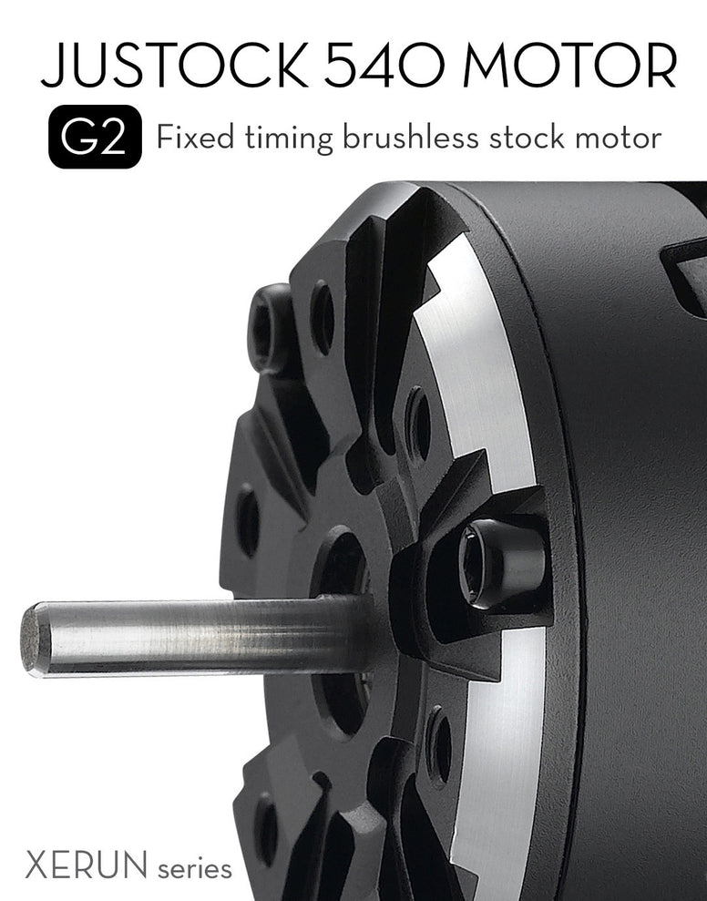 JUSTOCK 3650SD G2 Brushless Motor