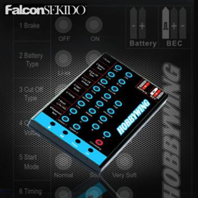 LED Program Card For FLYFUN & SKYWALKER Series , Accessory Device - Hobbywing, HOBBYWING North America