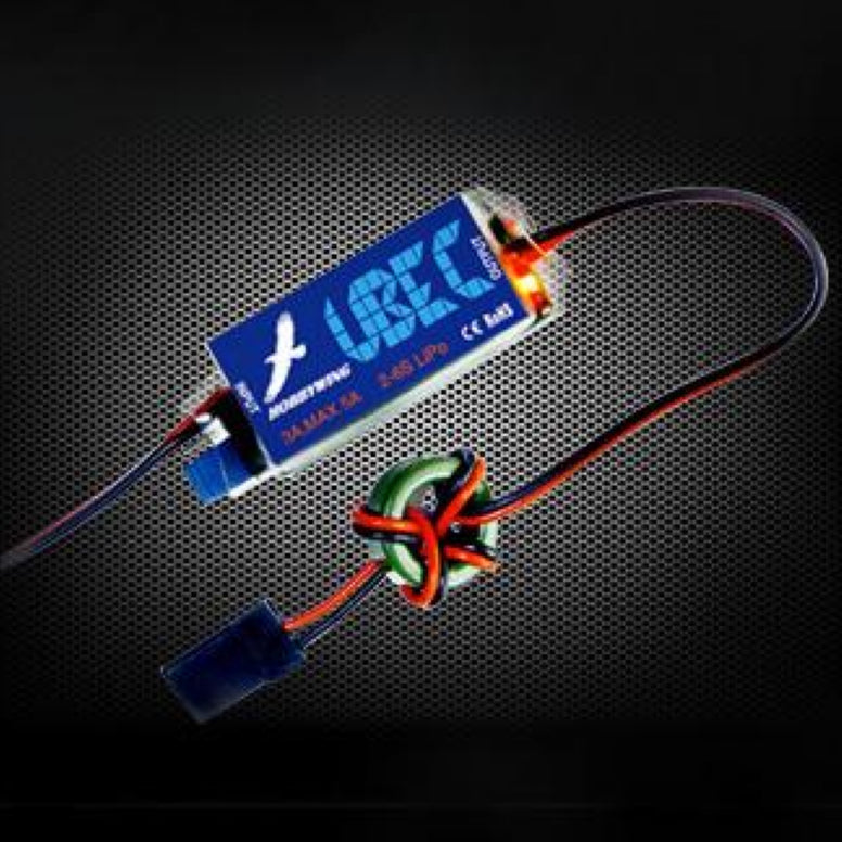 UBEC-3A (2-6S Lipo Input) , Accessory Device - Hobbywing, HOBBYWING North America