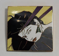 Patrick Nagel The Book 108 Brooch 1988
