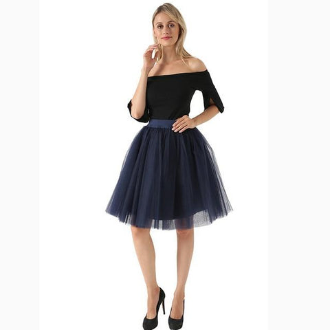 5 Layer Fashion Women Skirt