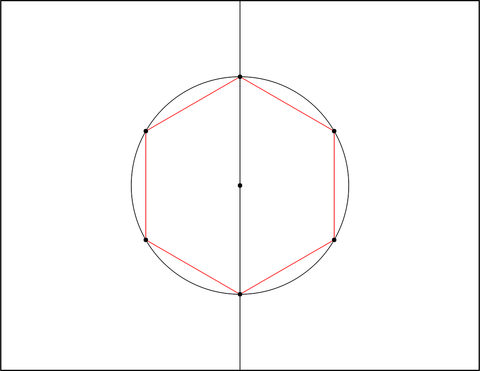 how to draw sacred geometry: step 3