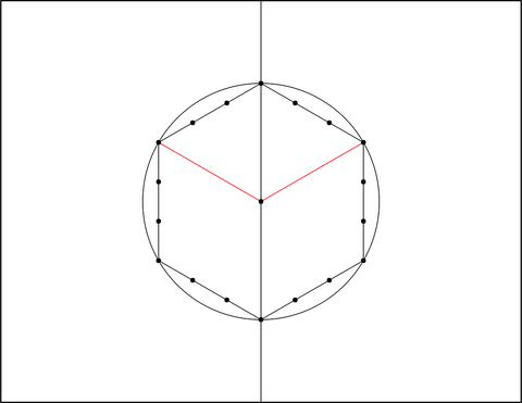 how to draw sacred geometry: step 5