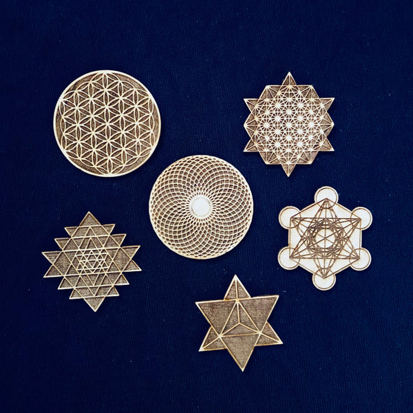 Sacred Geometry Stickers