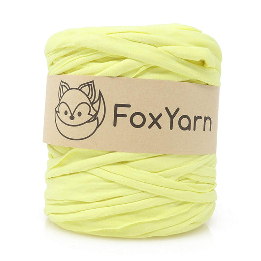 T-Shirt Yarn - Light Yellow